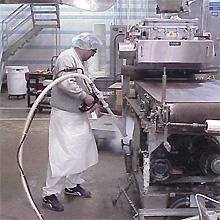 Đá khô – Ứng dụng làm sạch trong tương lai