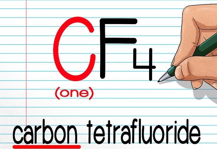 Carbon Tetrafluoride khí CF4
