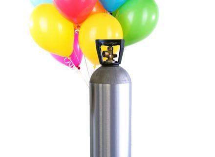 Khí bơm vào bóng bay - Helium