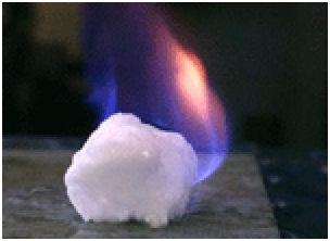 Mêtan Hydrate còn dược gọi là băng lửa