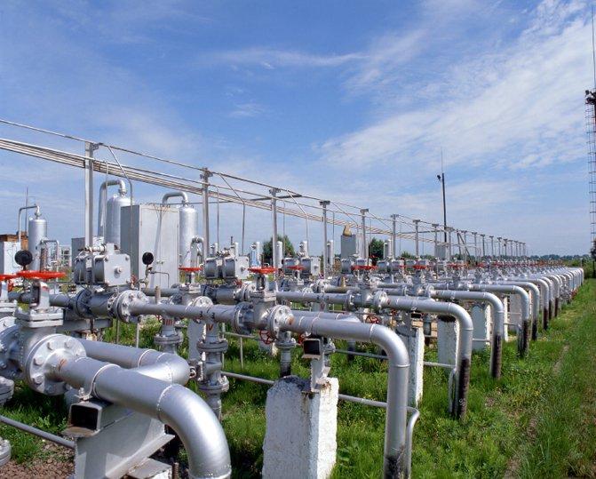 Đường ống cung cấp khí tự nhiên