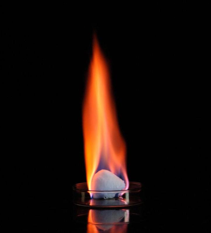 Mêtan hydrate hay còn gọi là băng cháy