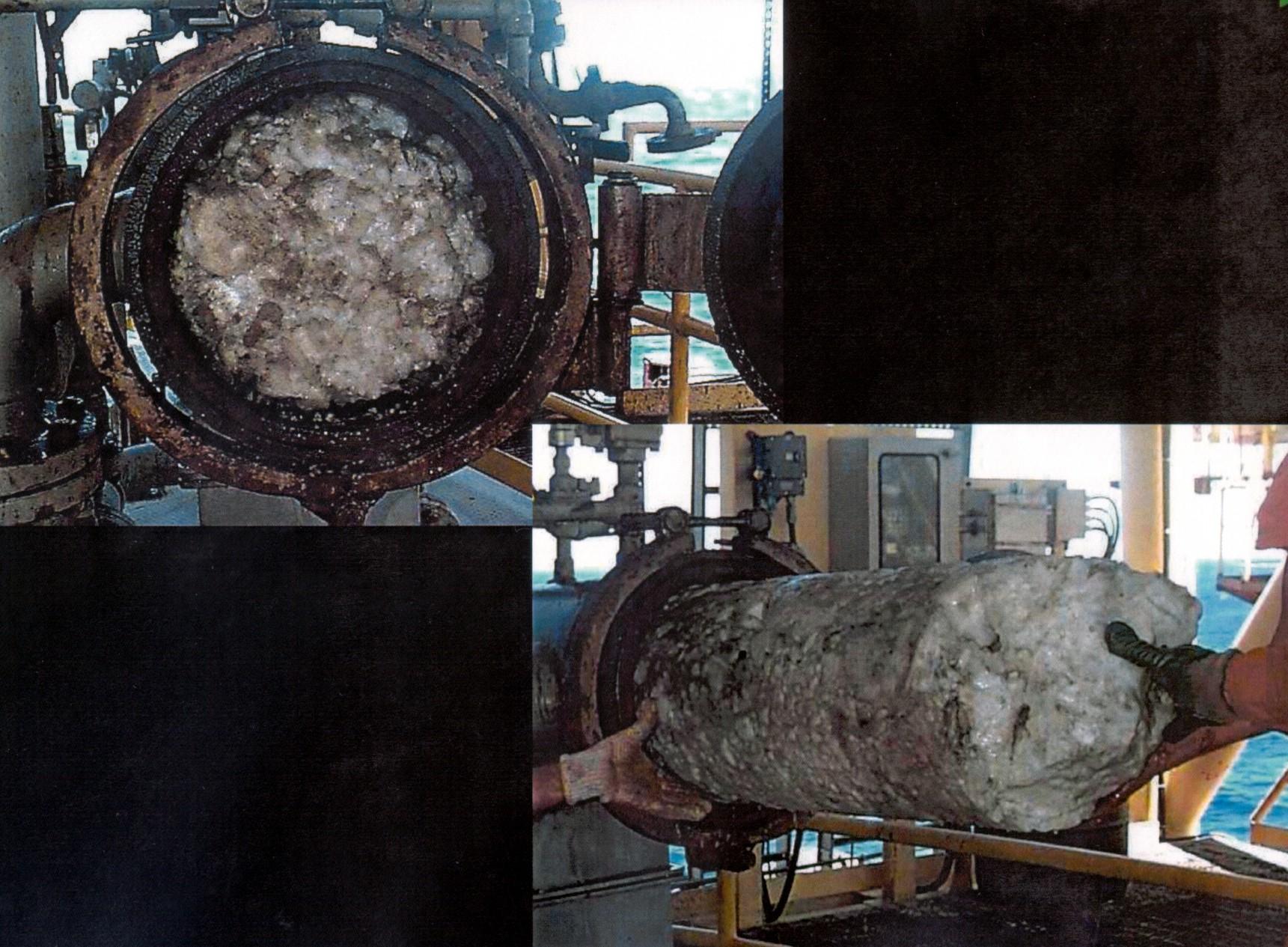 Khí Mêtan có ở băng lửa hydrate