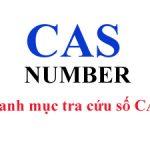 Danh mục tra cứu số CAS