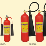 Bình khí nén CO2, binh khi co2, Sử dụng bình chữa cháy CO2 hay bột